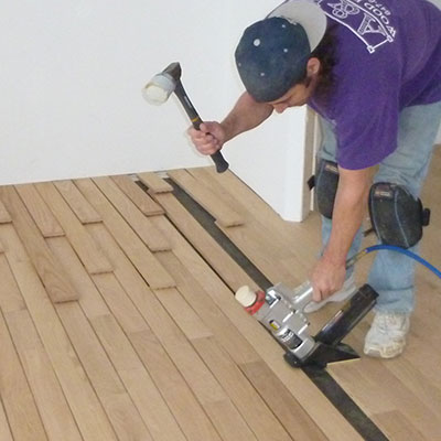 Hardwood Floor Installation