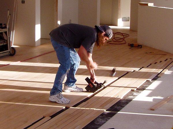 Image result for hardwood installation
